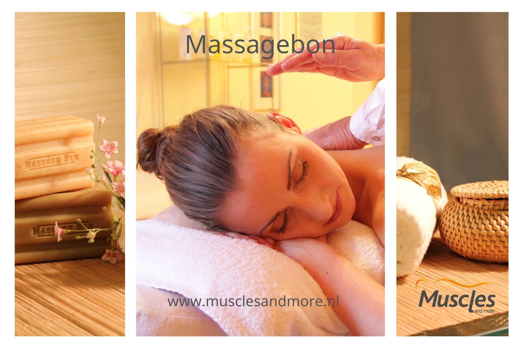 Massagebon van Muscles and more